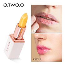 O.TWO.O Colors Ever-changing Lip Balm Lipstick Long Lasting Hygienic Moisturizing Lipstick Anti Aging Makeup Lip Care