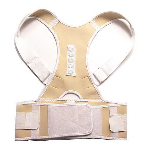 Feecy Therapy Posture Magnetic Corrector Brace Shoulder Back Support Belt for Men Women Braces & Supports Belt Non-woven