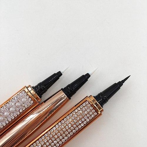 Eyelashes Magic Self Adhesive Liquid Eyeliner Glue Pen Clear Black Brown Eyeliner Long Lasting Waterproof Makeup Eyeliner