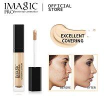 IMAGIC Eye Concealer & Base 6 Colors Full Coverage Suit for All Color Skin Face / Eye Makeup Liquid Concealer