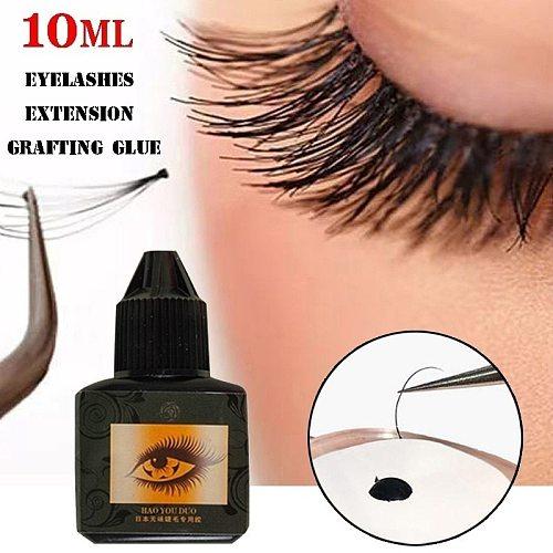 10ML Individual Eyelashes Extension Grafting Glue Long-lasting Nature Fast Drying Adhesive False Eye Lashes Makeup Tool