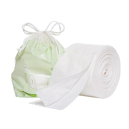 Disposable Face Towel Non-Woven Facial Tissue One-Time Makeup Wipes Cotton Pads Facial Cleansing Roll Paper Tissue 120piece