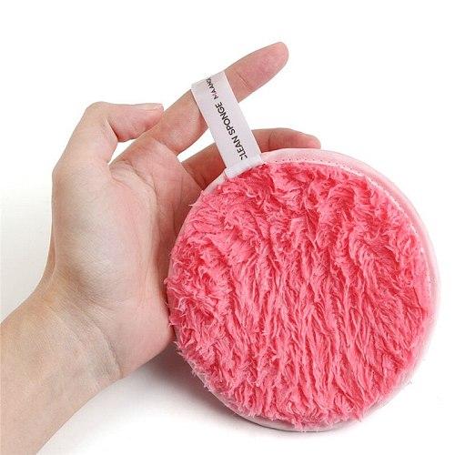 MAANGE Soft Makeup Removal Sponge Maquillaje Flutter Face Washing Cotton Flapping Reusable Sponge Face Cleansing Sponge