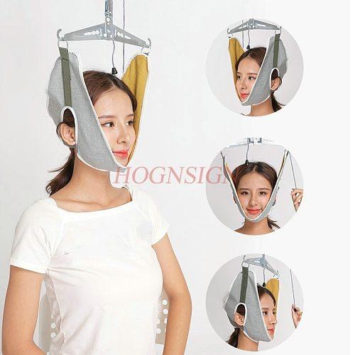Cervical traction device home stretching medical hanging cervical spondylosis neck treatment device neck orthosis traction frame
