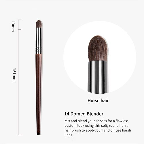 OVW Horse Hair Tapered Blending Makeup Brush  for Eye Shadow  Powder Brush Shading set Cosmetic Tools Beauty Brushes Make up