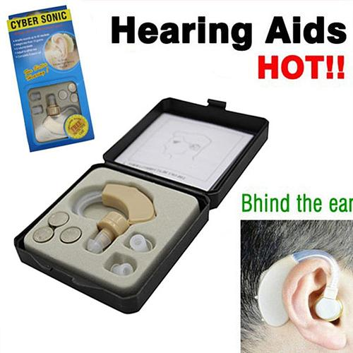 Digital hearing aid for the elderly Hear Aids Sound Amplifier Hearing Device In Ear Hot rechargeable ear care Power Wired Box