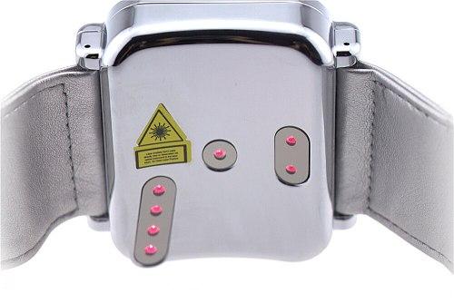 LASTEK laser glucose monitor digital blood glucose watch for blood pressure reduce
