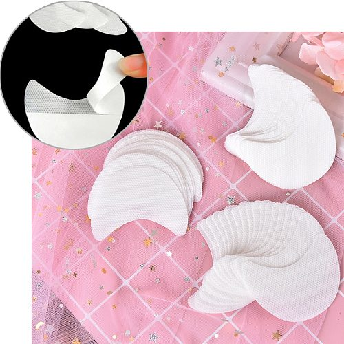20pcs/set Disposable Eyeliner Shield for Eye Shadow Protector Pads Eyes Lips Lint Free Patch Makeup Eyelash Isolation Stickers