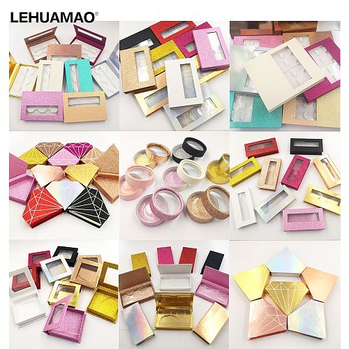 LEHUAMAO Mink Lashes 3D Mink Eyelashes Customer Packaging Can Do All As Your Requirment Contact us to confirm the custom price