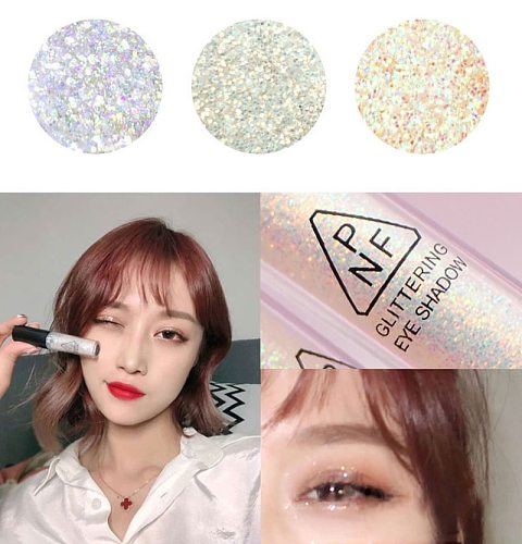 Mermaid Maquiagem Glitter Eyeshadow Gel Makeup Glitter Eye Liquid Pigments Eye Shadow Gel For Face Highlighter Body Hair Beauty