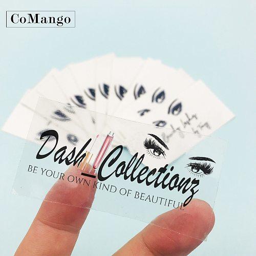 CoMango Wholesale Stickers Private Labels For False Eyelash Packaging Box Lash Boxes Packaging Custom Logo 3d Mink Eyelash Case