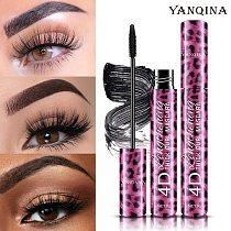 YANQINA Liquid Eyeliner Pencil+4D Waterproof Mascara Set Cosmetics Eye Liner Thick Curling Mascara Eyebrow Pencil Eyes Makeup