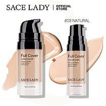 SACE LADY Full Cover Concealer Cream Waterproof Makeup Liquid Corrector Eye Dark Circles Make Up Face Base Cosmetics Wholesale