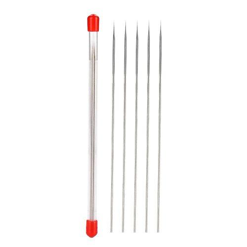 5PCs/Set Airbrushing Spray Air Brush Replacement Needle Nozzle Cap 0.2mm 0.3mm 0.5mm Airbrush Needle Body Brushwork Accessories