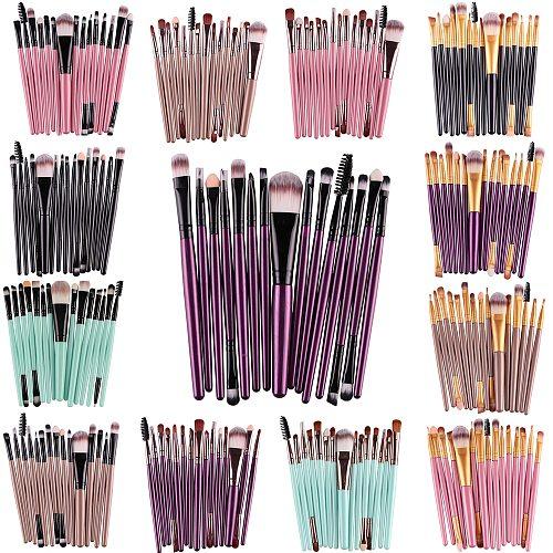 MAANGE Pro 6/7/15Pcs Makeup Brushes Set Eye Shadow Foundation Powder Eyeliner Eyelash Lip Make Up Brush Cosmetic Beauty Tool Kit