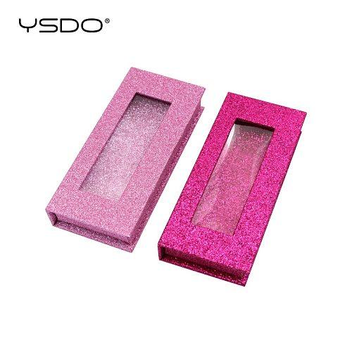 10/20/30 Pieces eyelash box wholesale glittering box mink eyelashes case makeup 3d mink false lashes box faux cils packaging
