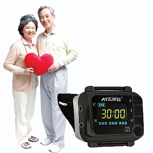 ATANG 2020 New Cold Laser Watch Therapy Medical Wrist Watch Diabetes Rhinitis Hypertension High Blood Pressure Blood Viscosity