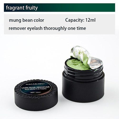 NAGARAKKU Professional Eyelashes Glue Remover false eyelashes tools  Eyelash Extensions Tools Cream  Jelly remover