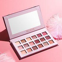 18 Colors Long Lasting Mineral Powder Eye Shadow Makeup Cosmetic Kit Waterproof Nude Glitter Eyeshadow Matte Shimmer Palette