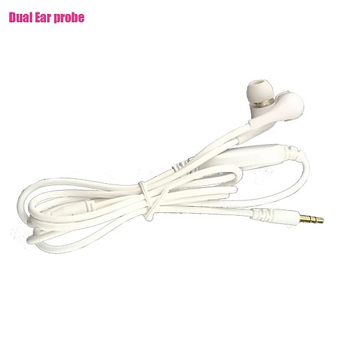 LASTEK Dual Ear Laser Probe Cable For 650nm Laser Wrist Watch,Multifunctional Home/Hospital/Clinic Desktop laser Therapy Device
