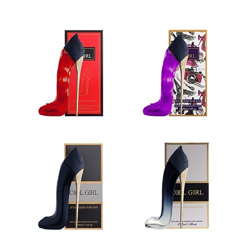 40ml Girl's Eau DE Toilette, Creative High Heel Shoes, Parfum Deodorant Spray