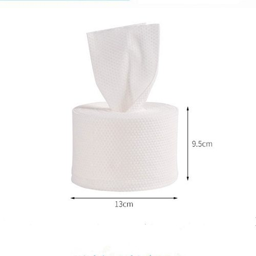 1 Roll Of Disposable Non-Woven Facial Tissue Paper Make-Up Wipes Cleansing Cotton Pad