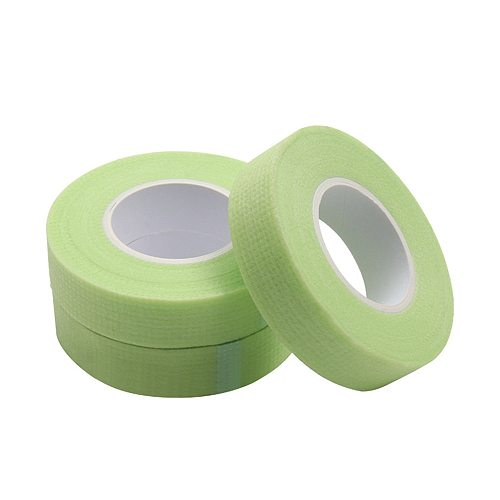 Eyelash Sensitive Tape Breathable Non-Woven Green False Eyelash Patches For Building Extension Makeup Paper Under Eye Pads