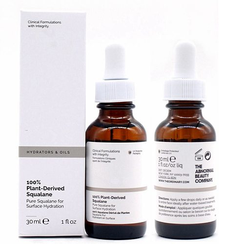 100% Plant-Derived Squalane Ordinary Essence Oil Perfect For Oily Skin Oil-control Face Makeup Base Primer 30ml
