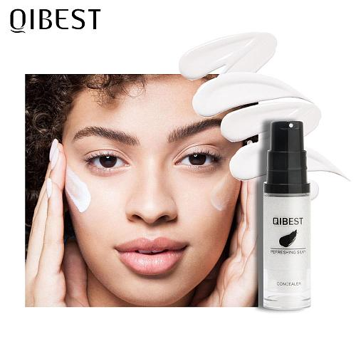 QIBEST Colors Changing Foundation Moisturizer Face Base 15ml Long Lasting High Coverage Concealer Cream Makeup Cosmesitcs TSLM1