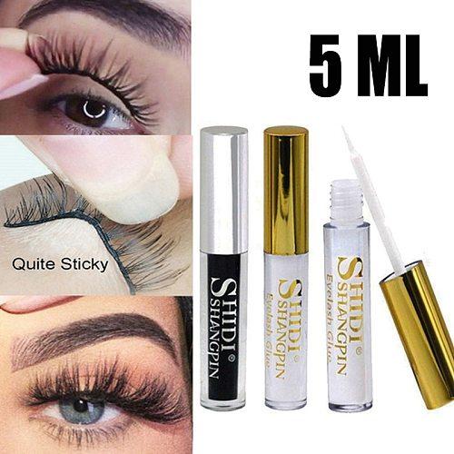 5ML Quick Dry Eyelash Glue False Eyelash Extension Long Lasting Waterproof Beauty Adhesive Makeup Tools Eye Lashes Glue