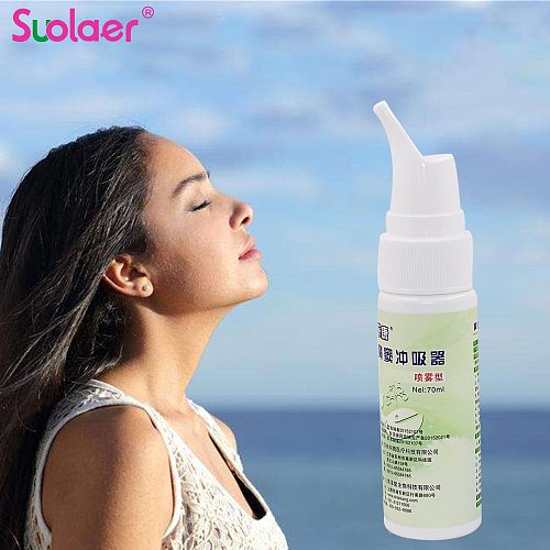 70ML Adult Child Medical Nose Cleaning Nasal Wash Rinse Cleaner Nose Protector Cleans Moistens Anti Allergic Rhinitis for Travel