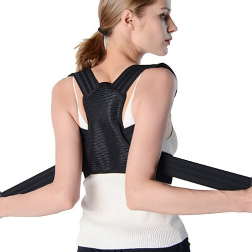 Corset for Back Support Corrector Posture Column Child Corset Upper Back Shoulder Spine Brace for Boys Girls Adjustable Strap