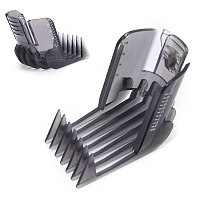 1PCS Black Hair Clippers Beard Trimmer Comb Attachment For Philips QC5130 QC5105 QC5115 QC5120 QC5125 QC5135
