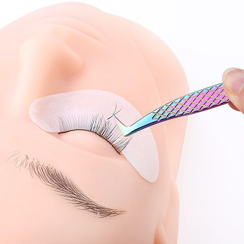 100% Closed High Quality New Style Premium Eyelashes Tweezers Hand anti-slip design Improve for 3D 6D Lashes Extensions