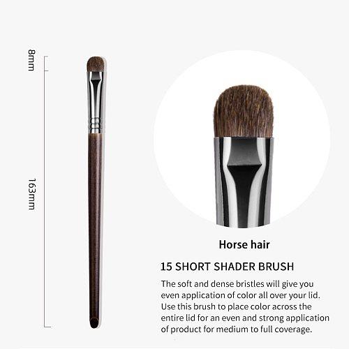 OVW Luxe Smoky Shader Brush Pony Hair Eye Shadow Make Up Blending Brushes Wooden Handle Metal Ferrule kisti dlya makiyazha
