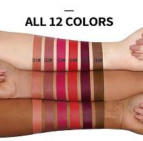 12 Colors Matte Lip Glaze Waterproof Non-stick Cup Lipstick Long Lasting Red Lip Matte Lipstick Moist Lip Gloss Maquiagem TSLM2