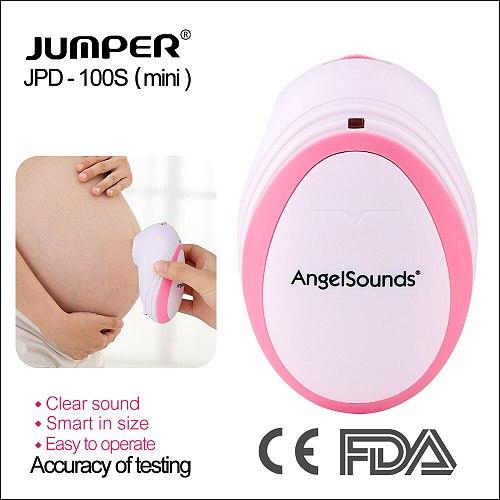 RZ Mini Household Fetal Doppler Prenatal Pocket Baby Ultrasound Detector Angel Sound Heartbeat Pregnant Doppler Monitor 100Smini
