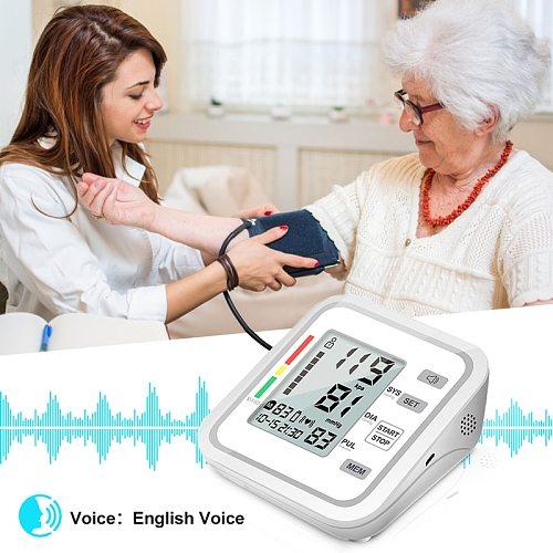 Automatic Tonometer Digital  Blood Pressure Monitors for Measuring Arterial Pressure Cuff Sphygmomanometer Upper Arm Tensiometro