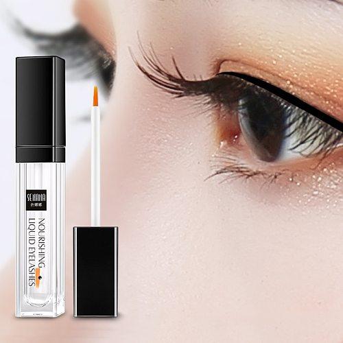 SENANA EGF Eyelash Growth Serum Vitamin E Eyelash Enhancer Longer Fuller Thicker Lashes Eyelashes Eyebrows Enhancer Eye Care 7Ml