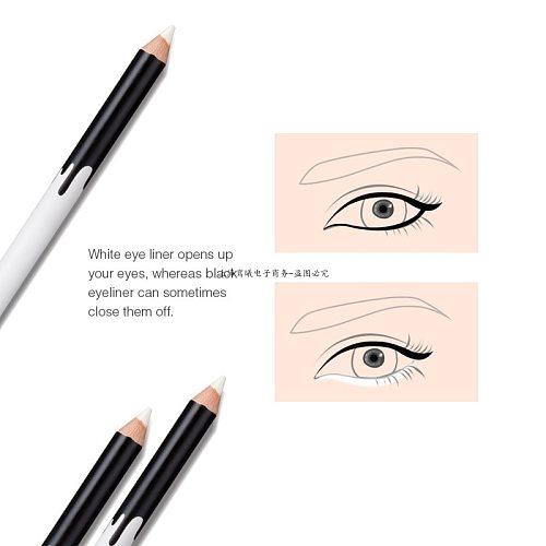 Top Selling 1/2/3/4/ 5pcs Eyeliner Pencil Makeup Women Long Lasting Waterproof Pigment Eye Liner White Eyeliner Pen Cosmetics