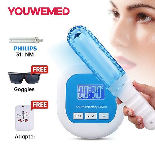 UVB 311NM  Phototherapy Instrument Household Vitiligo Psoriasis Treatment Ultraviolet Lamp Treatment Lamp Vitiligo Phototherapy