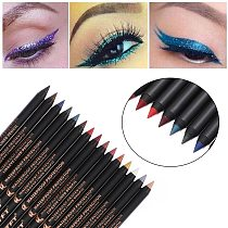 1PC New Hot Sale Waterproof Eyeliner Eyeshadow Pencil Lip Liner Pen Multicolor Long Lasting Colourful Pigment Eye Cosmetics