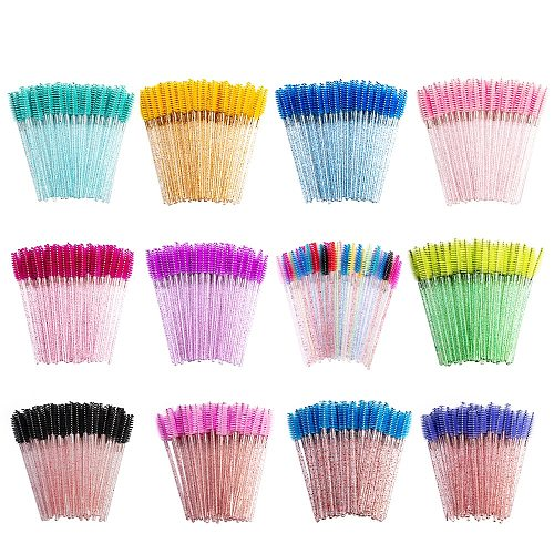 50Pcs Eyebrow Brushes Eyelash Brushes Disposable Mascara Wands Applicator Cosmetic Brushes Tool Beauty Make Up Brush Maquiagem