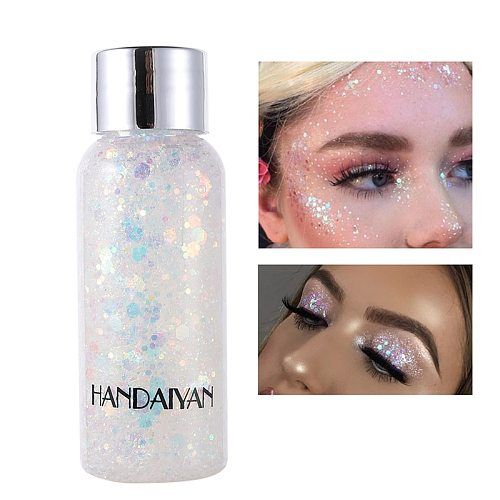 Face Shimmer Gel Glitter Shiny Body Painting Eye Shadow Festival Party Cream