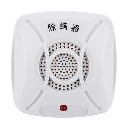 220V UltrasonicNail Dust Mite Controller Repeller Low Noise Electric Plug In Mites Removing Device Nail Art Tools