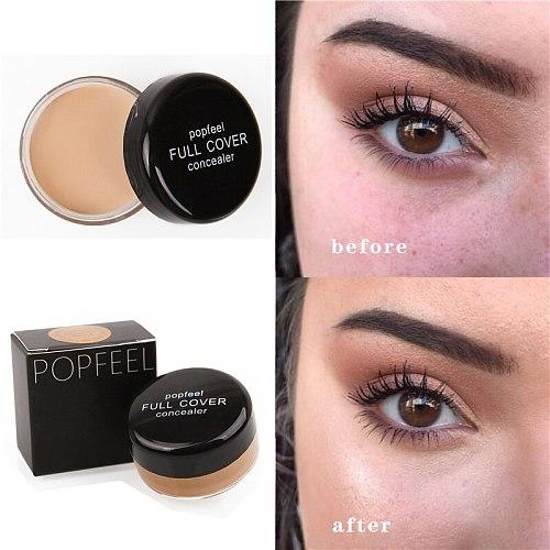 Face Makeup Concealer Cream Full Cover Blemish Hide Dark Spot Eye Lip Contour Color Correction Liquid Foundation Concealer Cream