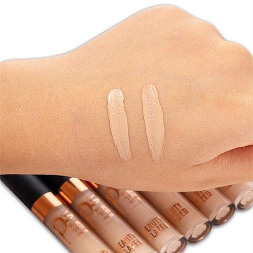 Beauty Glazed Brand Face Makeup Concealer Liquid Foundation Contour Palette Waterproof Lasting Concealer Natural 2 Colors
