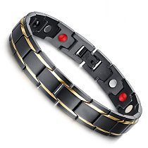 Body Slimming Weight Loss Anti-Fatigue Healing Bracelet Hematite Beads Stretch Bracelet Magnetic Therapy Bead Slim For Men Women