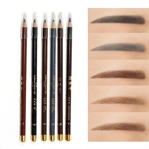 Eyebrow Pencil Available Eyebrow Pencil Shadows Cosmetics For Makeup Tint Waterproof Microblading Pen Eye Brow Natural Beauty