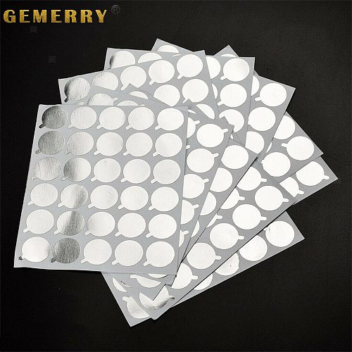 300 Pcs Disposable Sticker Pallet Eyelash Glue Holder Paper Eyelash Extension Pads Sticker Stand on Lash Supplies 2.1cm